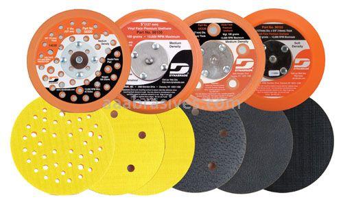 "Dynabrade Accessories Disc Pad,5"" Vac Vinyl Face Soft Urethane 5/16'-24"