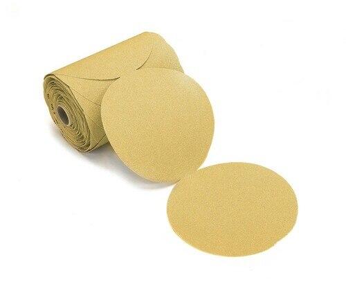 "Dynabrade Accessories Abrasive Paper Gold PSA Disc 5"" 5H Grit-120"