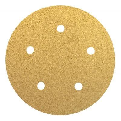 "Dynabrade Abrasive Paper Gold PSA Disc 5"" NH Grit-280"