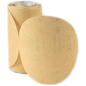 "Dynabrade Accessories Abrasive Paper Gold PSA Disc 5"" 5H Grit-220"