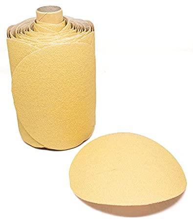 "Dynabrade Accessories Abrasive Paper Gold PSA Disc 5"" 5H Grit-80"