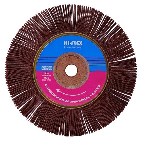 Cumi 150 X 50MM GRIT-120 ALO. RESIN CLOTH MOPS - HIFLEX Flap Mop Wheel