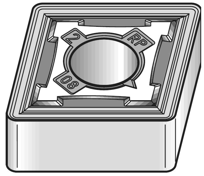 Kennametal CNMG190612RP KC5010 Rhombic Carbide Insert