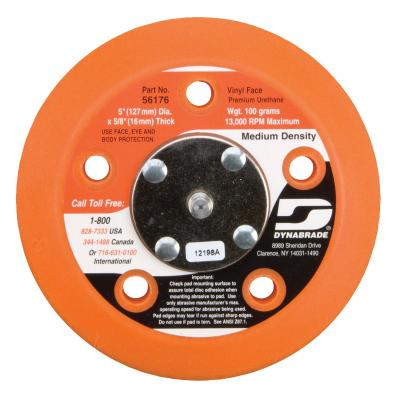 "Dynabrade Accessories 5"" (127MM)DIA Vacuum Disc Pad Vinyl Face"